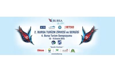 2. Turizm zirvesi 18-19 aralık 2015 Bursa Atatürk Kongre ve Kültür Merkezi'nde yapılacak