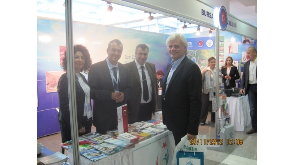 5.Uluslararası Sağlık Turizmi Kongresi 18-21 Kasım 2012 tarihinde Ankara'da yapıldı.