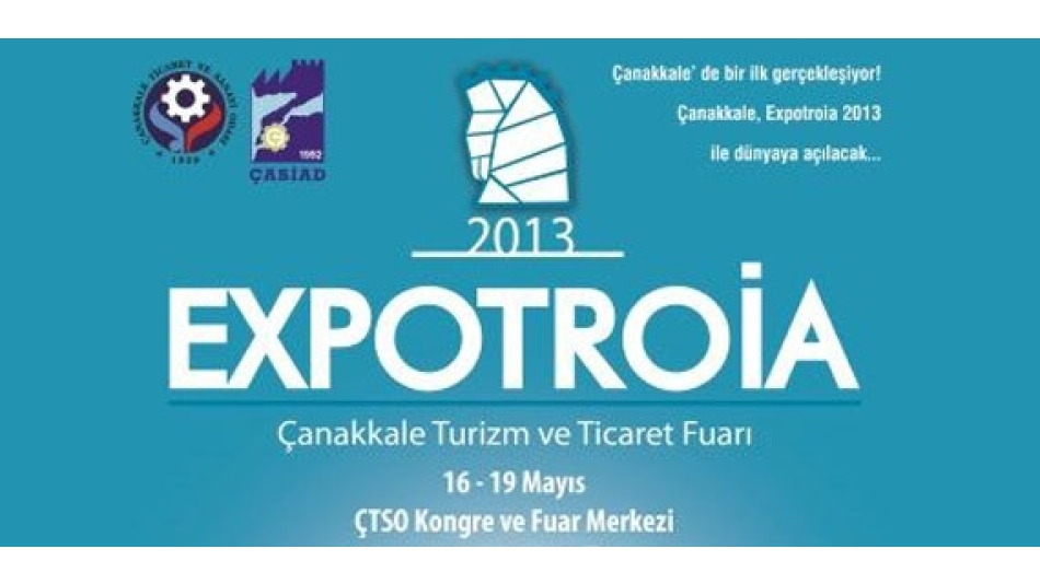 Gümtob - 2013 Expotroia Çanakkale Turizm ve Ticaret fuarına katılıyor.