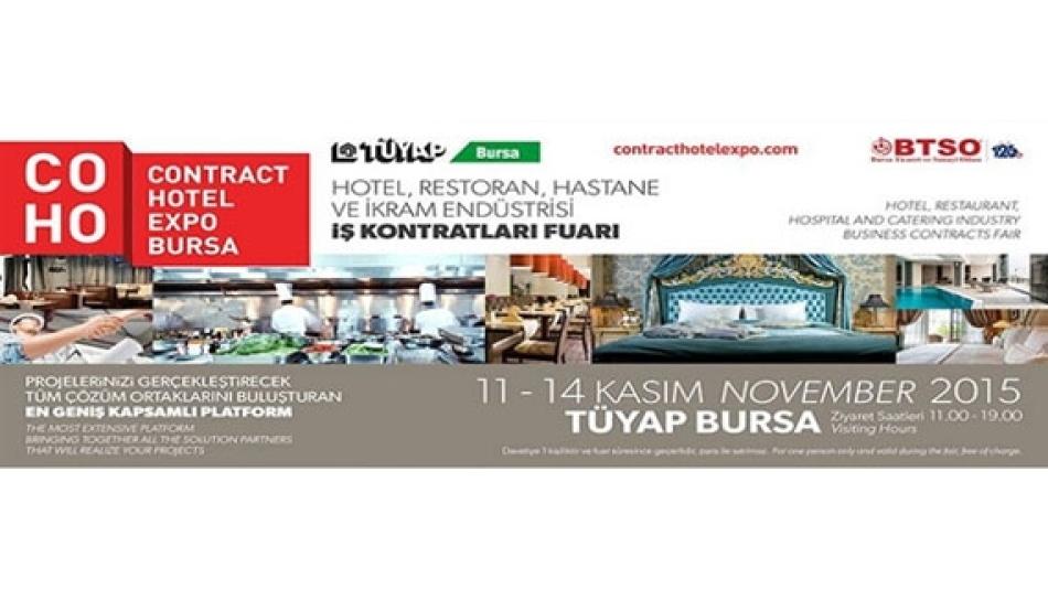 Gümtob - COHO - Contrack Hotel Expo Bursa Fuarında
