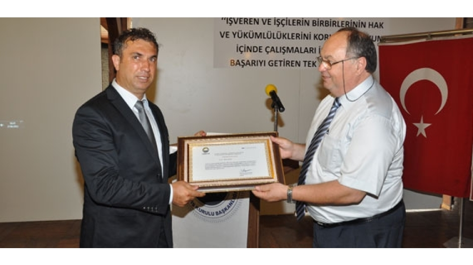 Gümtob-Çalışma ve Sosyal Güvenlik Bakanlığı İş Teftiş Bursa Grup Başkanlığı Bilgilendirme Toplantıları Yapıldı